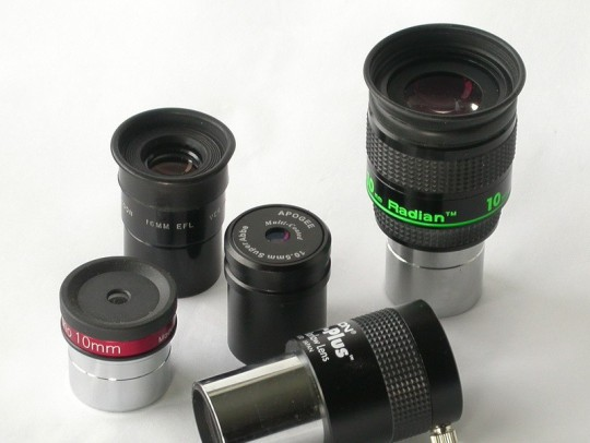 Like munching on potato chips, it's hard to stop buying eyepieces after just one or two. The trick is to choose the ones that are the most useful.