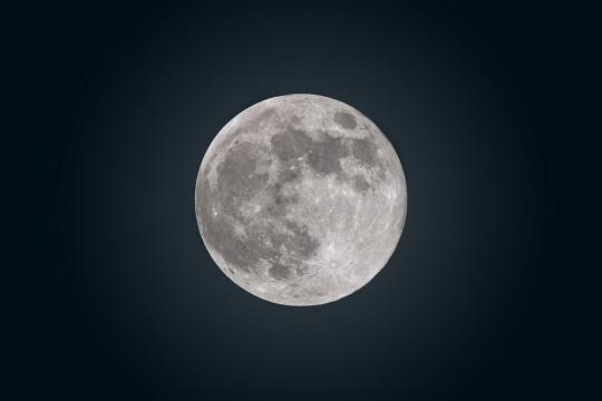 All full Moons are inspiring naked-eye sights. Photo courtesy Gary Seronik
